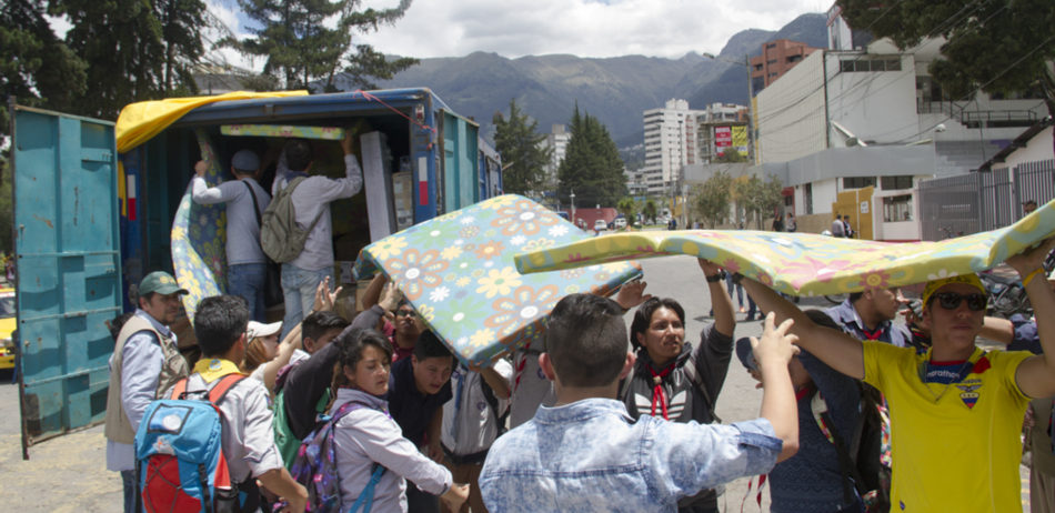 How it was to experience the 7,8 earthquake in Ecuador