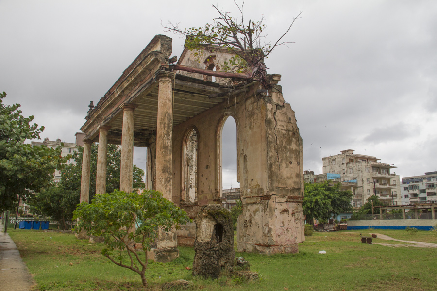 Abandoned Grand Hotel in Vedado, Cuba