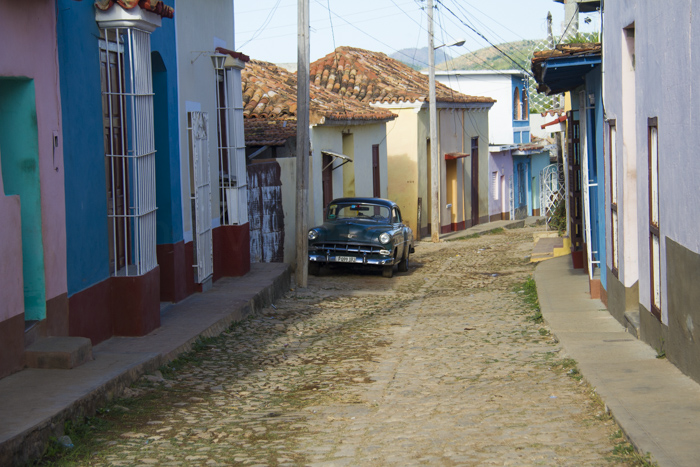 Colourful street of Trinidad, Cuba