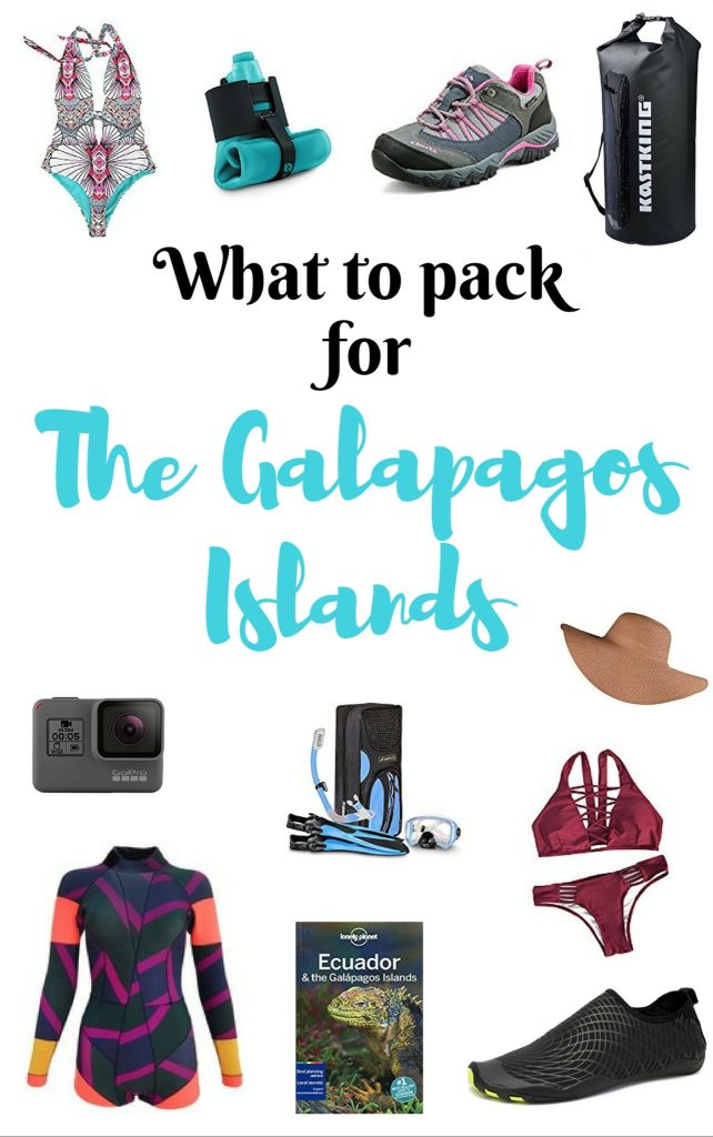 What to pack for the Galapagos Islands