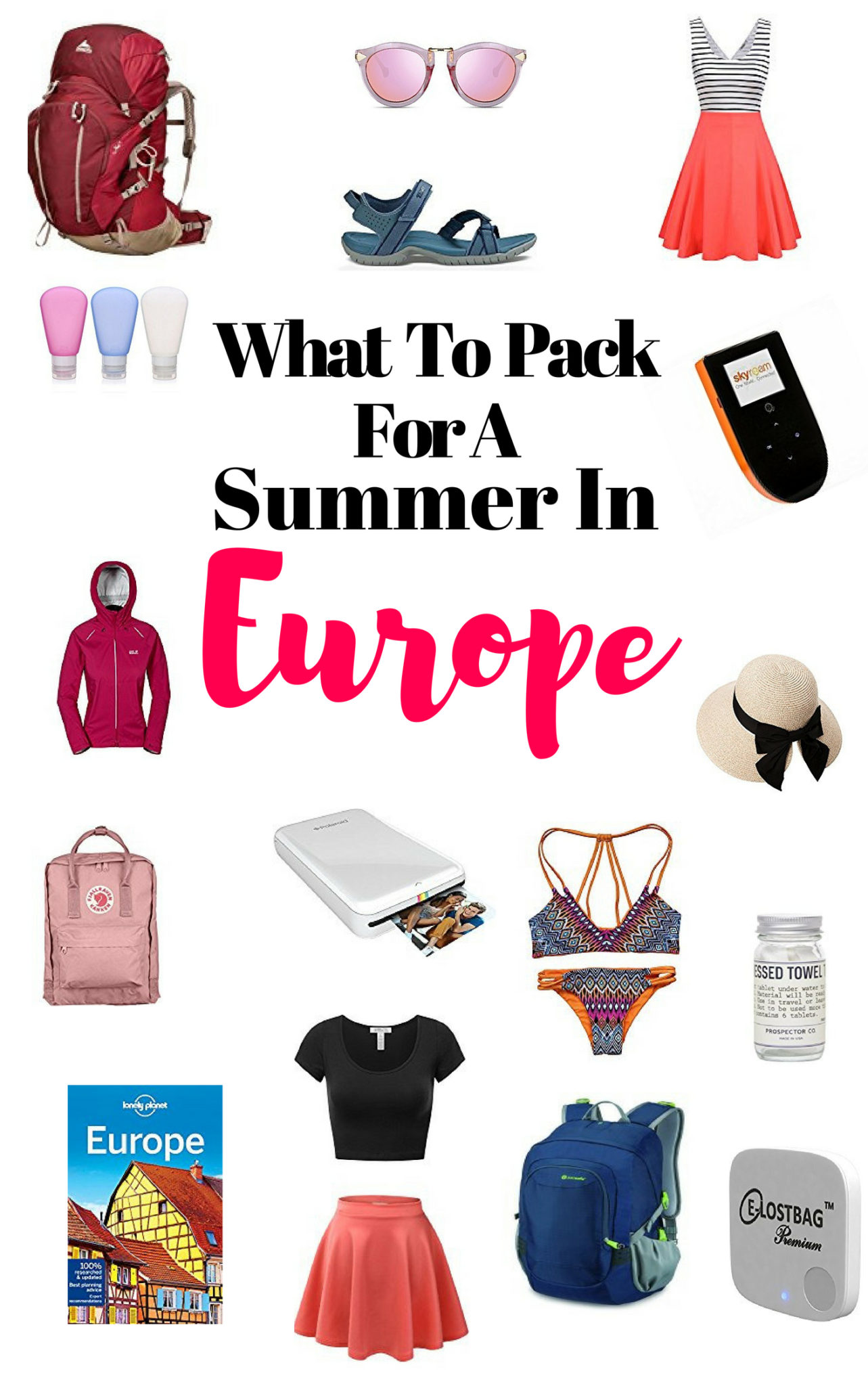 What To Pack For A Trip To Europe