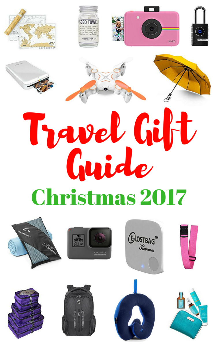 Travel Gift Guide For Christmas 2017