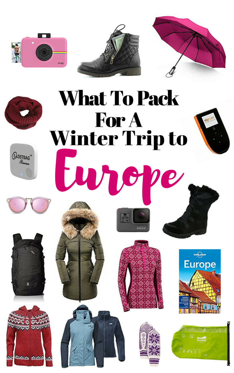 What To Pack For A Winter-Trip To Europe