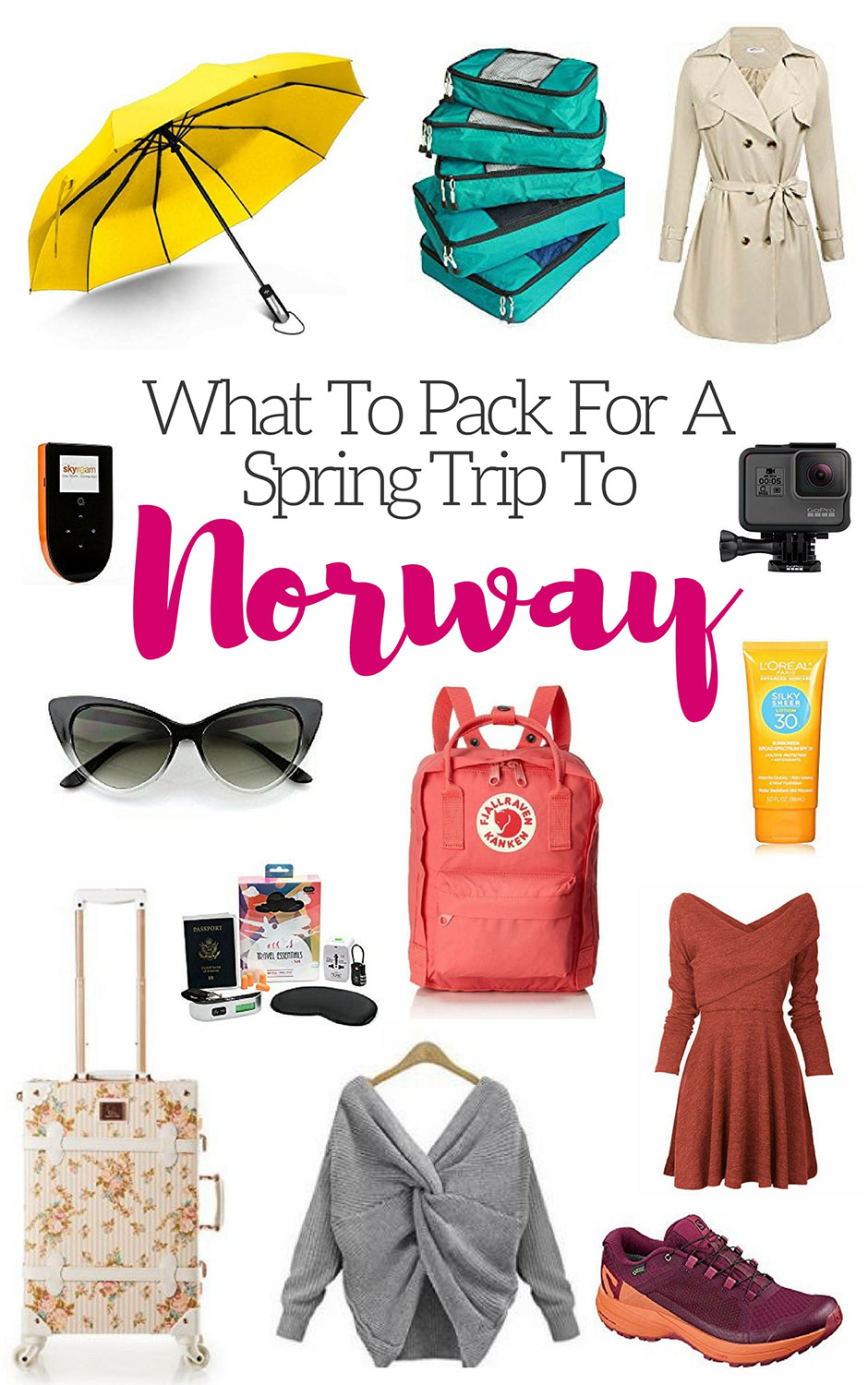 What To Pack For A Spring Trip To Norway
