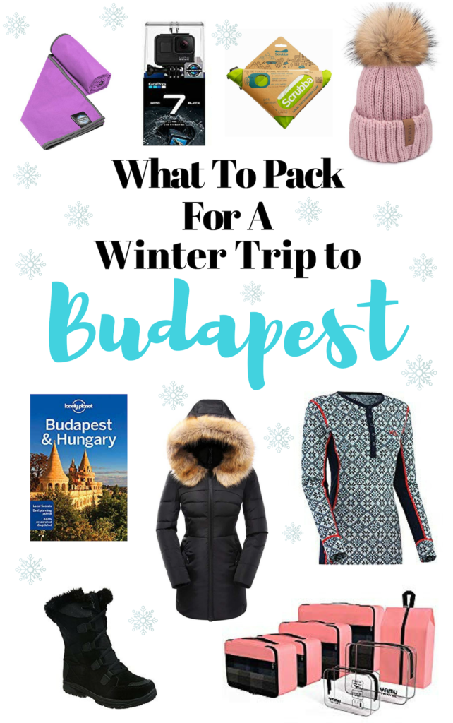 Budapest packing list